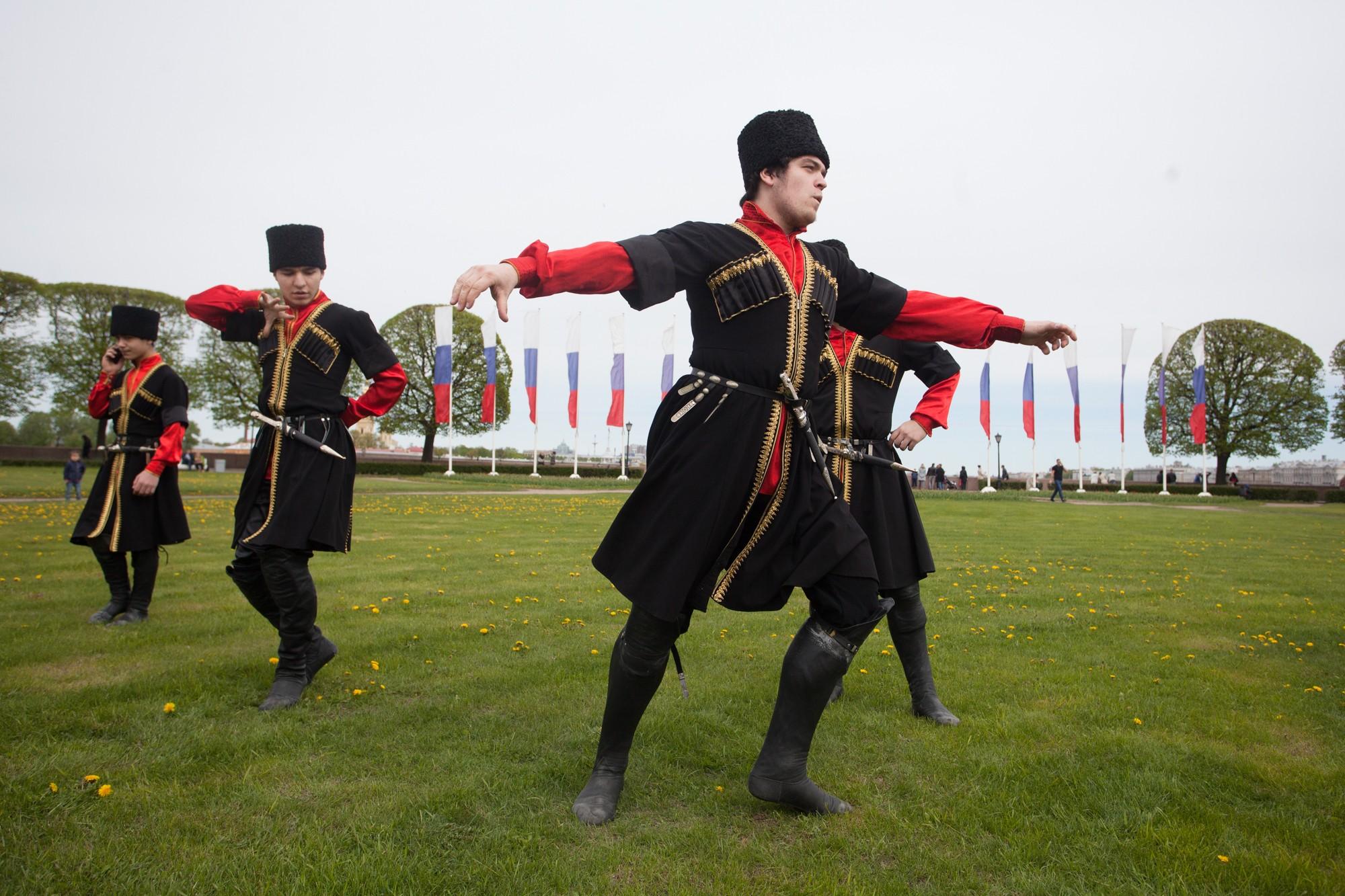 бал национальностей казаки
