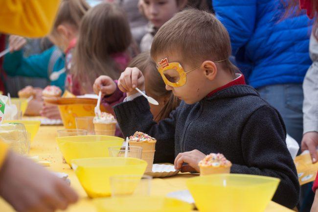 праздник фестиваль мороженого дети творчество