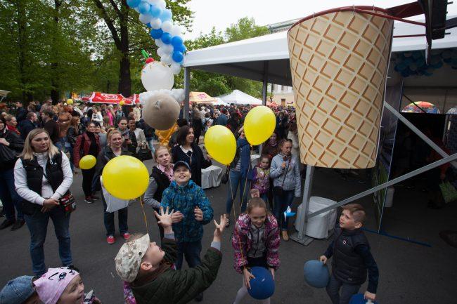 праздник фестиваль мороженого