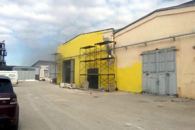 пожар склады химический переулок