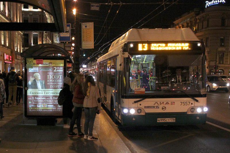 ночь музеев ночной автобус
