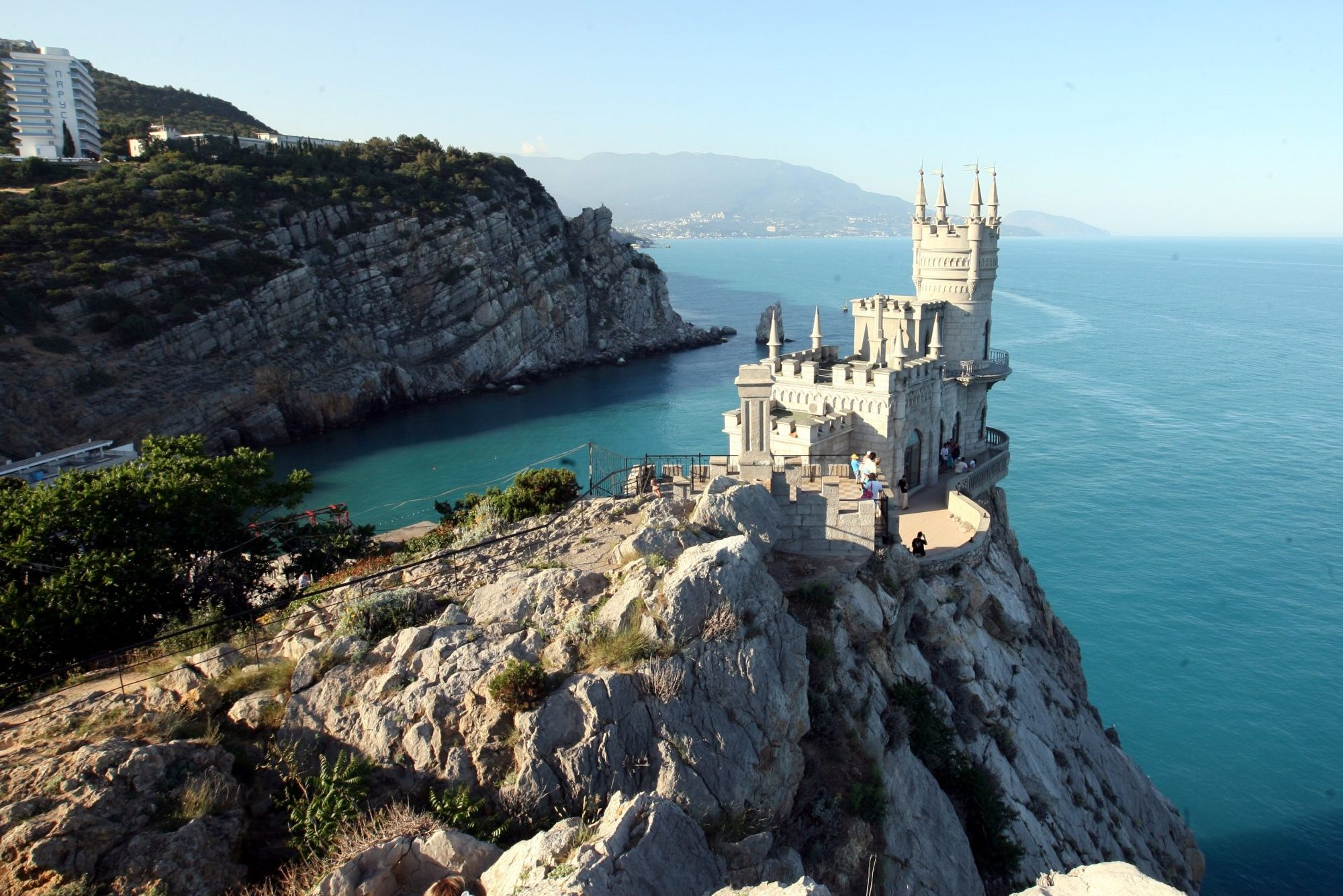 Крым замок Ласточкино гнездо туризм курорты южный берег крыма