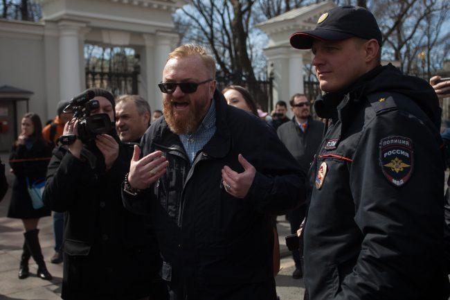 первомайская демонстрация первое мая виталий милонов