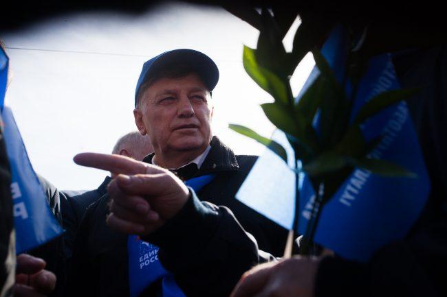 первомайская демонстрация первое мая вячеслав макаров