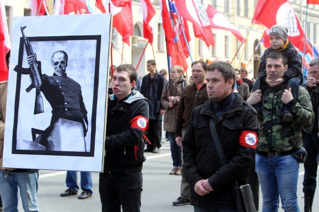первомайская демонстрация первое мая Другая Россия Андрей Дмитриев