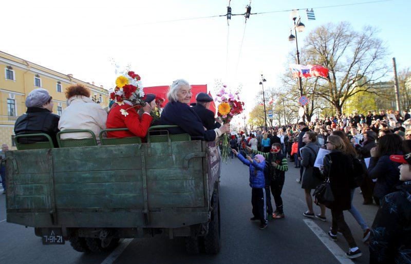 ветераны День Победы 2015