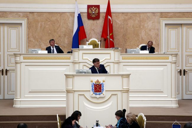 законодательное собрание закс Вячеслав Макаров