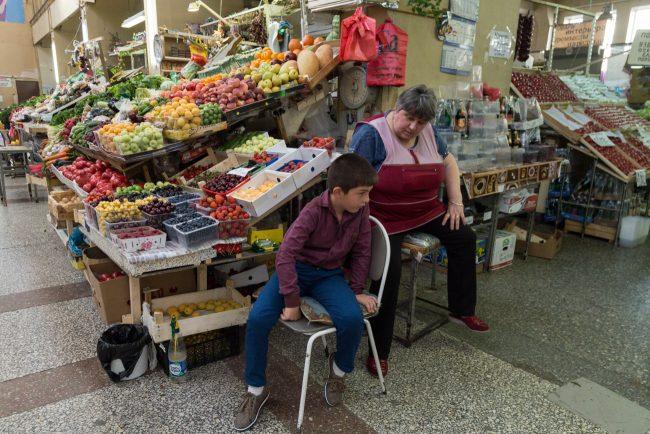 сытный рынок фрукты овощи