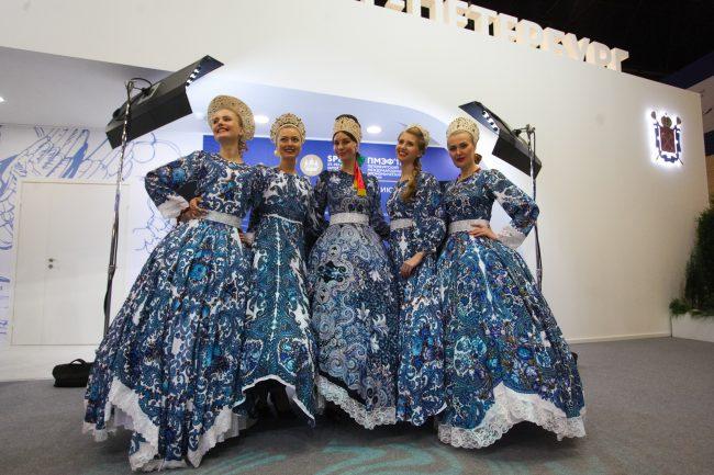 народные костюмы пмэф 2017