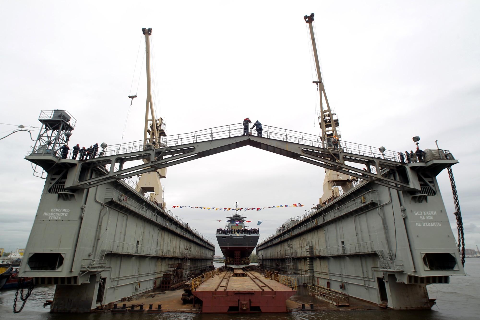 корвет Гремящий боевой корабль судостроительный завод Северная верфь судостроение кораблестроение
