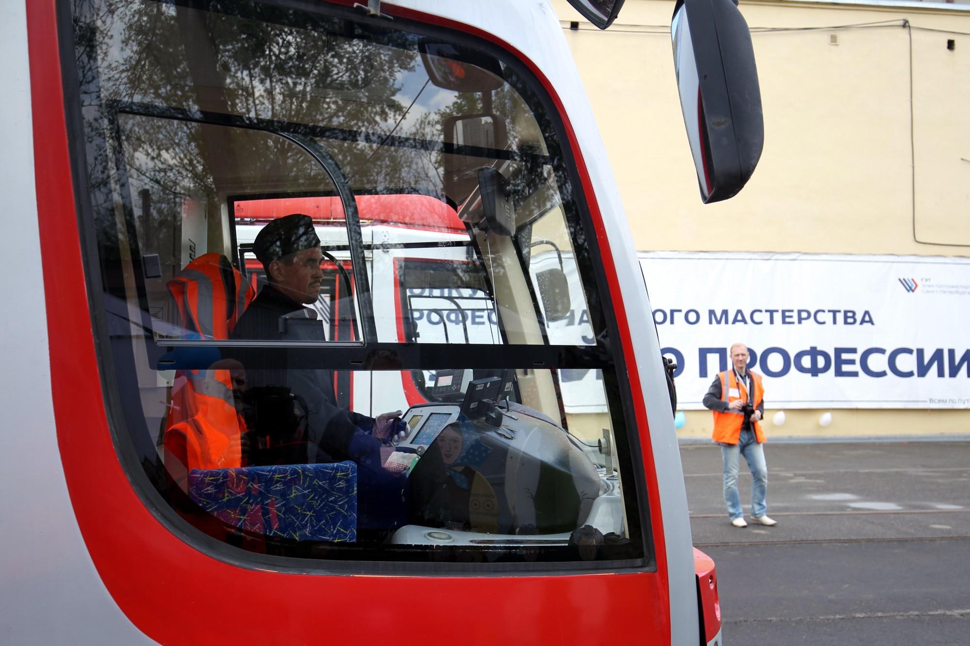 водитель трамвая в петербурге о профессии