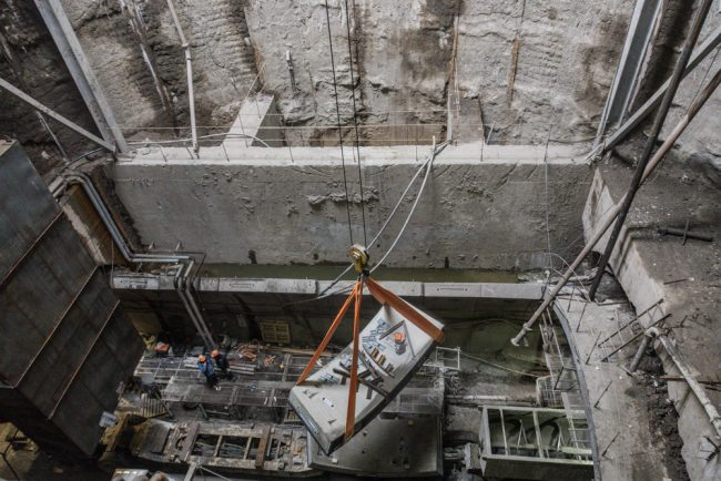novokrestovskaya-11 строительство невско-василеостровской линии метро новокрестовская