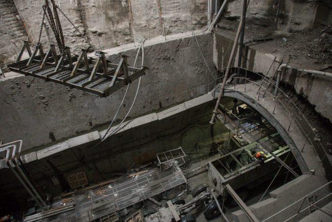 novokrestovskaya-37 строительство невско-василеостровской линии метро новокрестовская