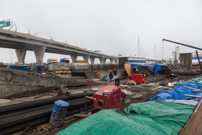 novokrestovskaya-8 зсд строительство невско-василеостровской линии метро новокрестовская