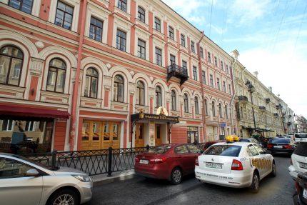 улица Рубинштейна театр Зазеркалье рок-клуб