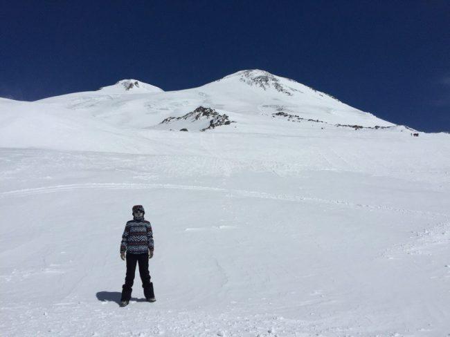 вид на Эльбрус высота 4200 фото Ангелина Фокина