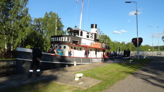 яхта пароход Tornator Финляндия