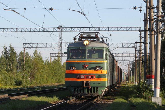 Железнодорожная станция Полюстрово железная дорога локомотив электровоз