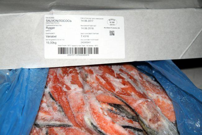 В Петербурге нашли 120 тонн контрабандной рыбы