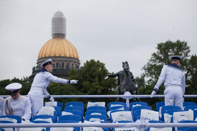 парад день военно-морского флота вмф