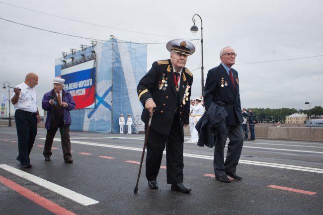 парад день военно-морского флота вмф ветераны