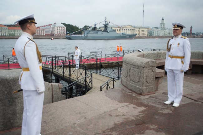 парад день военно-морского флота вмф военные корабли