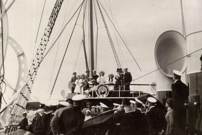 яхта штандарт императорская семья николай II