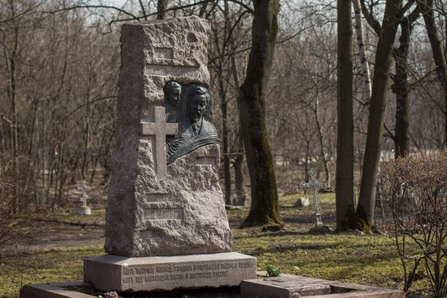мамин-сибиряк могила литераторские мостки