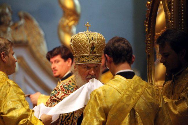 Патриарх Кирилл Петропавловский собор богослужение