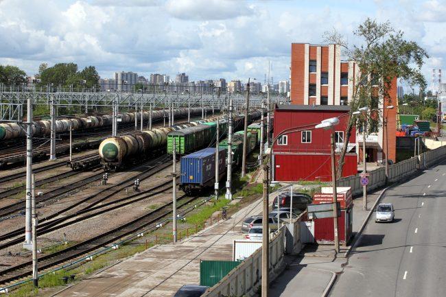железнодорожная станция автово железная дорога вагоны