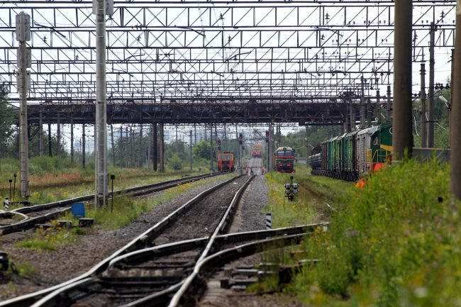 железнодорожная станция купчинская железная дорога вагоны