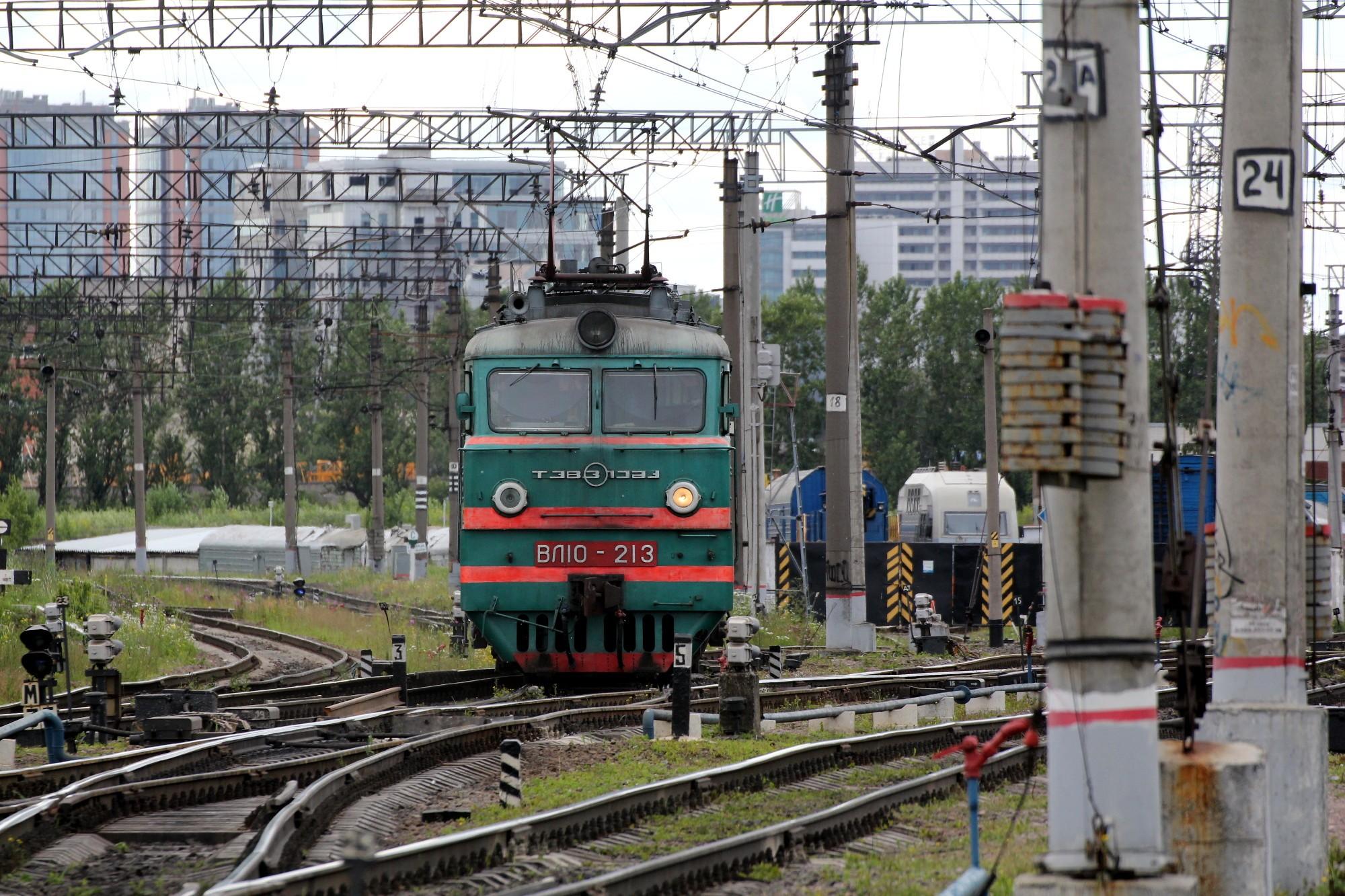 железнодорожная станция волковская железная дорога локомотив электровоз