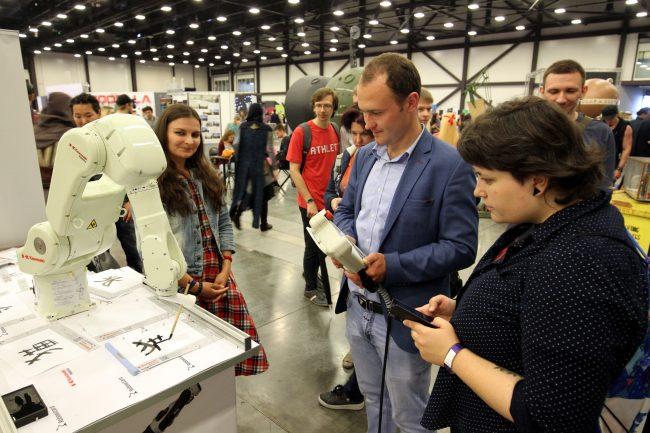 старкон фестиваль косплей фантастика костюмы робототехника
