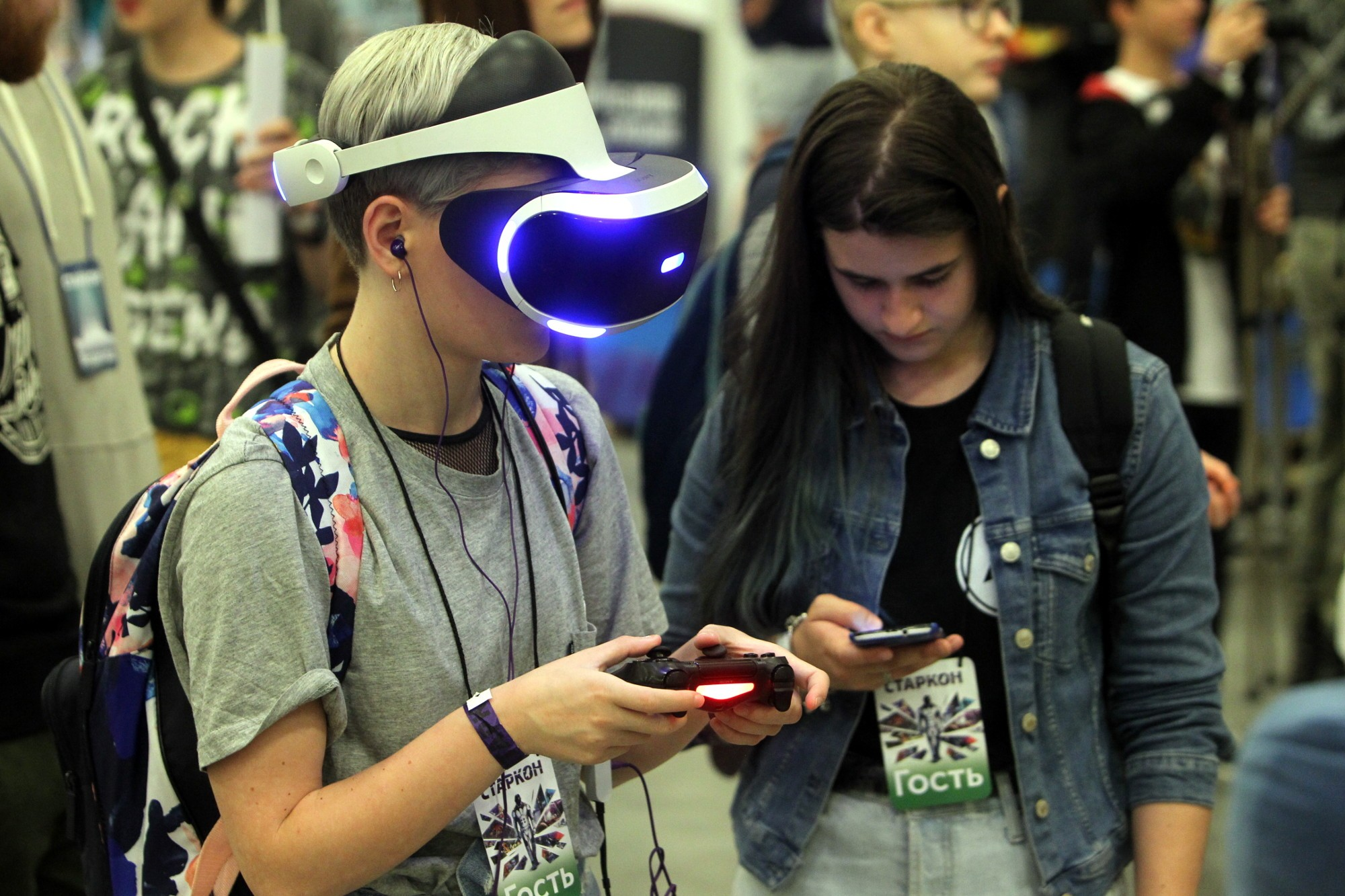 старкон фестиваль косплей фантастика костюмы виртуальная реальность