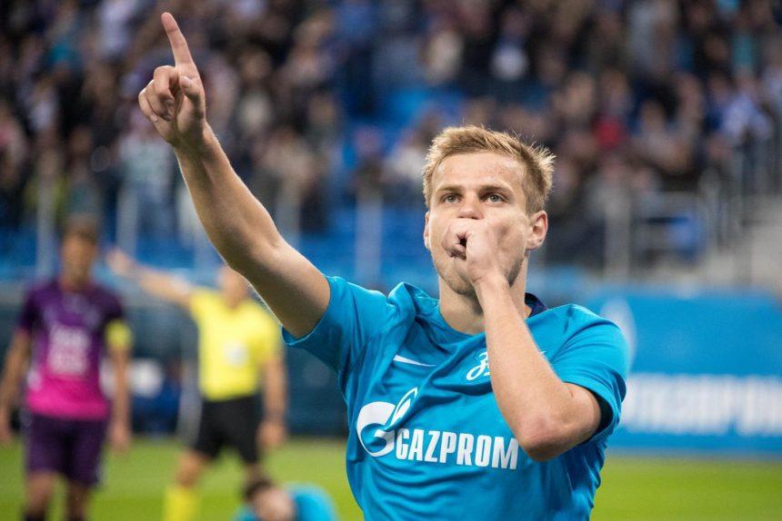 Кокорин забил гол зенит утрехт лига европы футбол