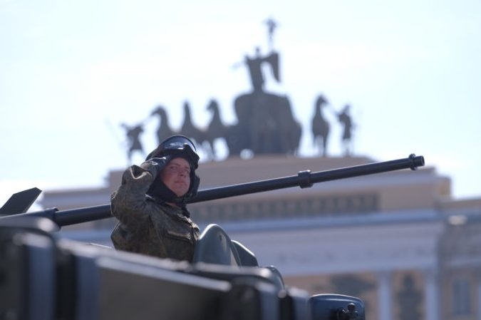 70-09.05.2016 - парад на Дворцовой площади в День Победы