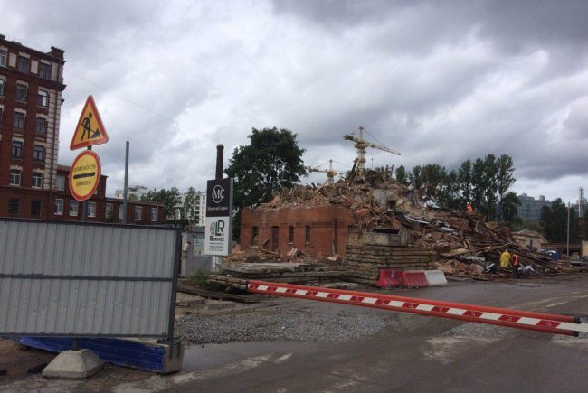 Ремесленная, 3 снос здания