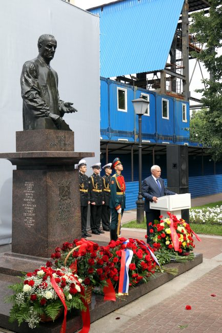 памятник Анатолию Собчаку Георгий Полтавченко