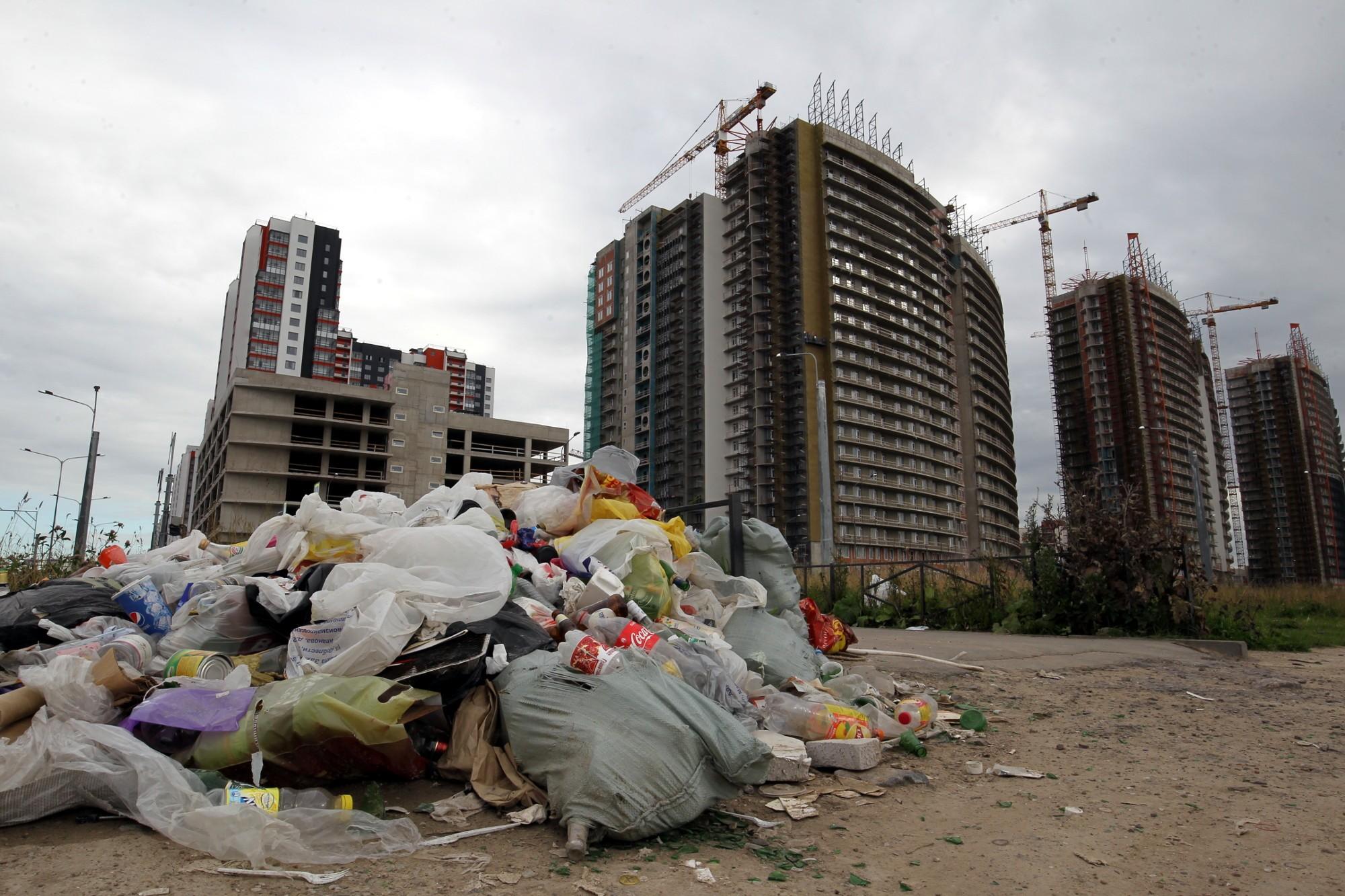 помойка отходы мусор несанкционированная свалка экология