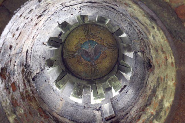 часовня склеп новодевичье кладбище мозаика