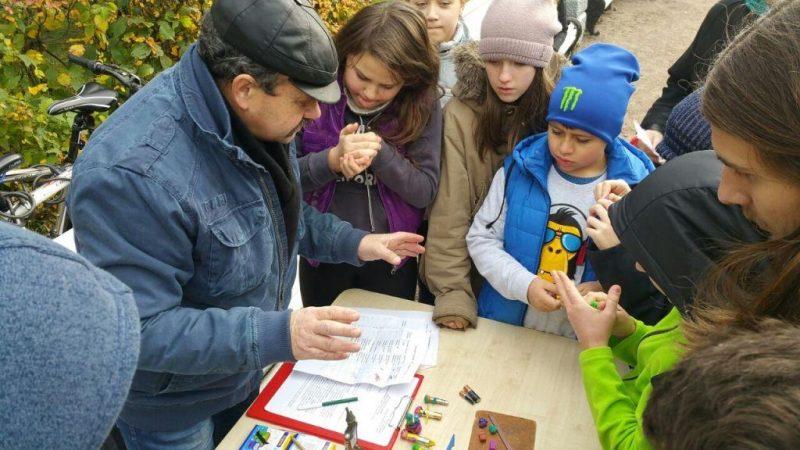 сбор батареек школьники дети опасные отходы экология