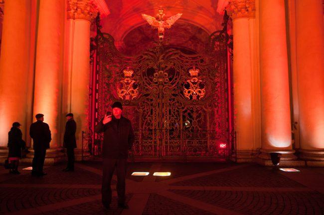 дворцовая площадь зимний дворец эрмитаж столетие революции