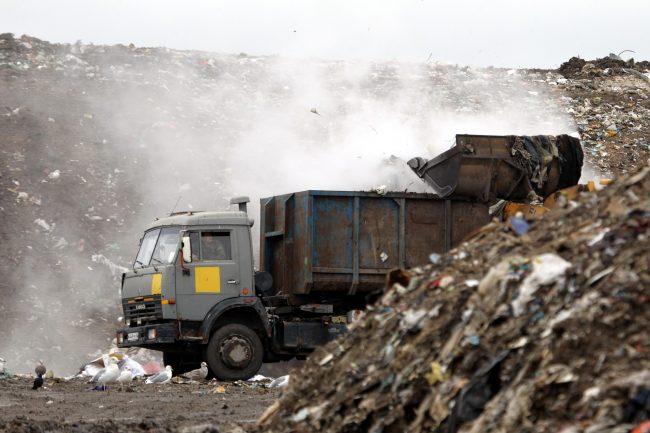полигон ТКО Новоселки мусор отходы экология