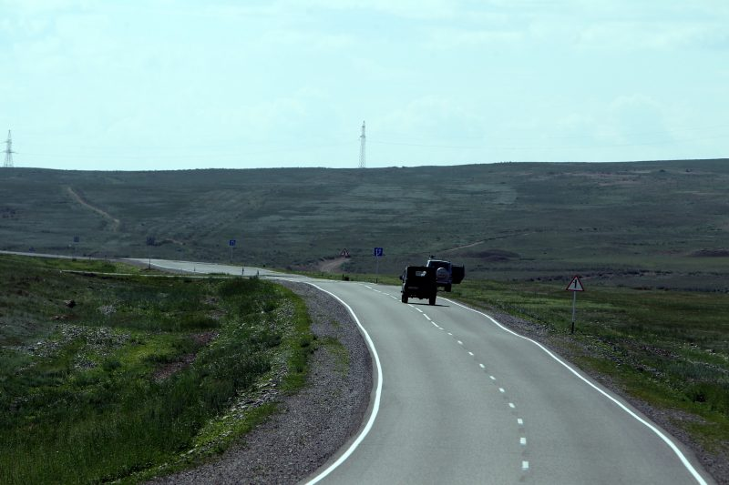 дорога дороги федеральная трасса м-54 р-257 Енисей Тува