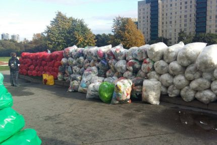 раздельный сбор мусор отходы утилизация вторсырьё экология