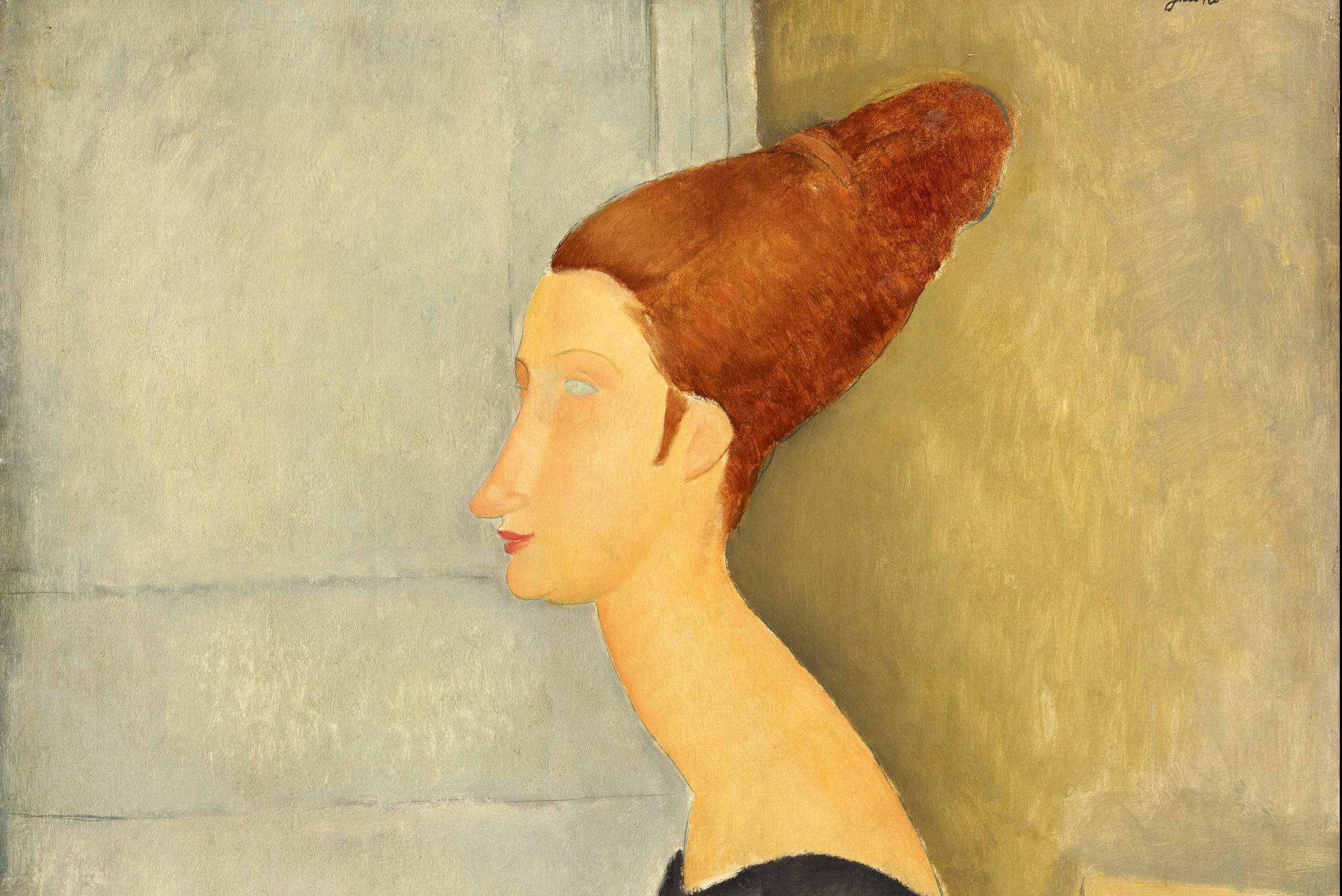Амедео Модильяни, портрет Жанны Эбютерн