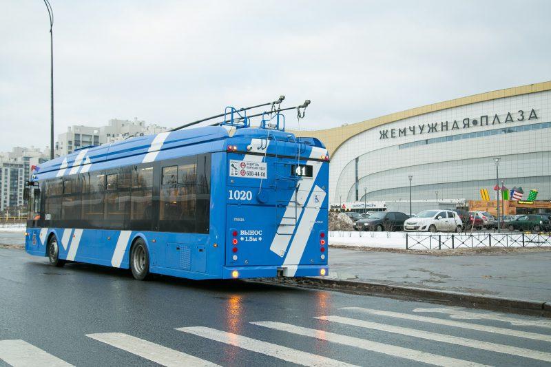 электробус троллейбус маршрут 41