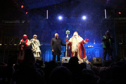 Дед Мороз Дворцовая площадь Александр Говорунов