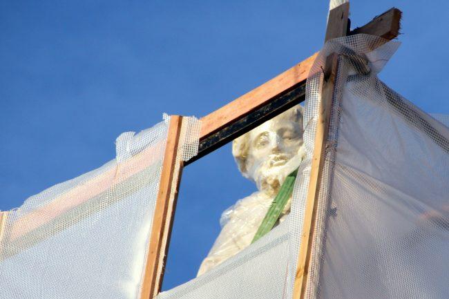 храм церковь святой Екатерины скульптура реставрация КГИОП