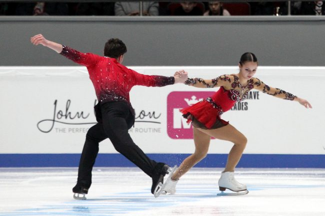 Чемпионат России по фигурному катанию парное катание короткая программа